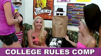 COLLEGE RULES - Collection Of Teen Sluts Fucking Frat Boys In The Dorms, Featuring Sadie Holmes, Keisha Grey, Dillion Carter & More! 59分钟