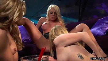 Lindsey Meadows is having a steamy lesbian threesome all night