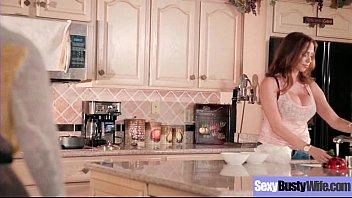 Sexy Hot Wife (Ariella Ferrera) With Big Juggs Love Intercorse clip-05