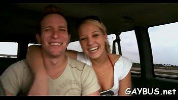 Free gay porn tubes sites Young dude is seduced into having a risque homo sex