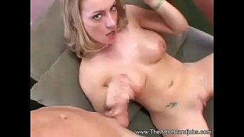 Shaking Two Cocks MILF 3some