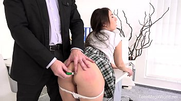 Anal test of prostrate - Fuckstudies.com - little candy - lazy student gets anal orgasm as punishment