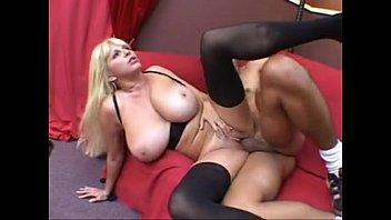 Paris - Huge Boobs Blonde MILF Fucks Big Cock - More at www.VeryHotCamGirls.com