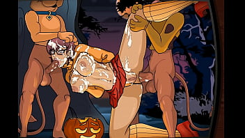Adult velma Scooby-doo - velma dickley in a sticky sap trap by creambee