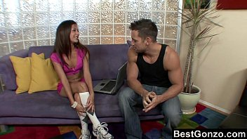 Ariana Fox entertaining her guest