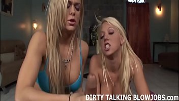 Can you handle two hot blondes sucking your big cock JOI