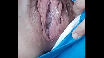Loose natural gape pussy
