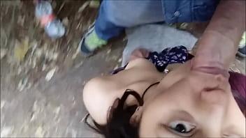 Celular Robado en Mexico - Putita mamando en publico
