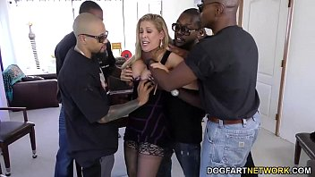 Cherie Deville Gets Gangbanged By Big Black Cocks thumbnail