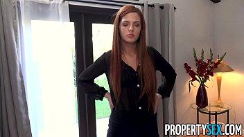 Landlady big tits Propertysex - stressed out landlady receives massage