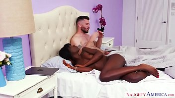 Dream girl porn - Black girl, white guy, hot sex naughty america