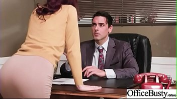 Hot Sex In Office With Big Round Boobs Girl (Monique Alexander) video-20