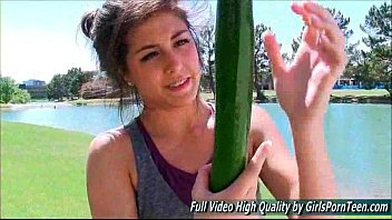 Natalie ftvsolo golfing park cucumber deep