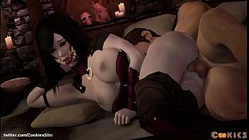 Nude mileena - Vampire mileena sideways anal