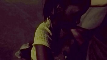 Fucking her nigger mouth on cam in parking garage thumbnail