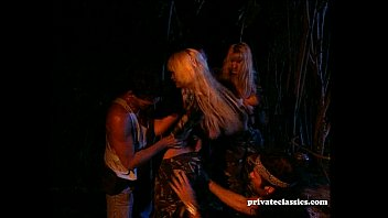 Hot Blonde Sex Slaves Forced to Fuck Preview