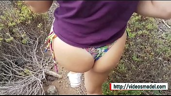 Brother & teen step sister have public sex in paradise Visit http://videosmodel.com