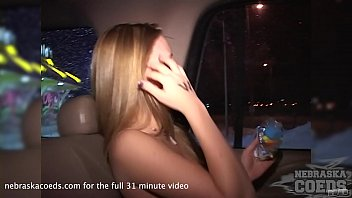 natalie first ever shoot and naked drive through remastered