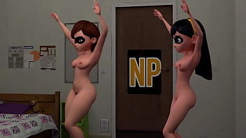 VIOLET AND HELEN PARR ANIMATIONS