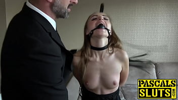 Emotional support in bdsm Petite lady bug fucked in the face before anal penetration