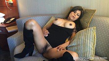Meximilf gabby quinteros no panties tease