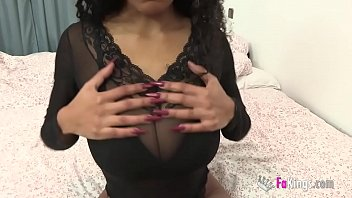 Big Tits Vs Big Cock. Busty Tina Gets Wrecked By An Immense Cock!