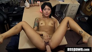 Real Spycam Sex: Asian Masseur Pounded by In Pawn Shop - Saya Song