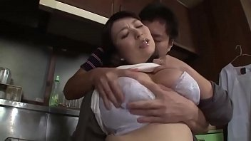 Asian Stepmom Forced By Stepson In The Kitchen - www.stepfamilyxxx.com
