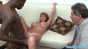 Busty Mature Slut Cuckolds Hubby With Bbc
