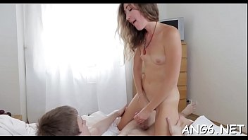 Divine brunette kitty Lilu enjoys hardcore fuck