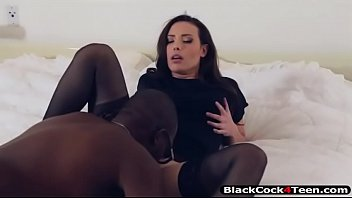 Gorgeous Casey gets banged by black man