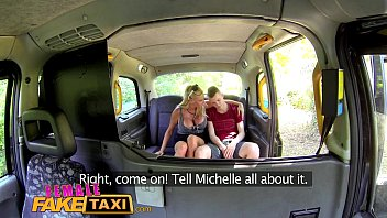 Big female fucking Female fake taxi student gets ultimate fantasy fuck