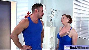 (katja kassin) Housewife With Big Tits Enjoy Hardcore Sex mov-19