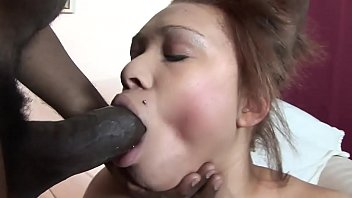 Natural tits Ebony can hardly fit hunks huge tool in her mouth:xxblacks.com