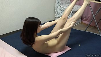 Bautiful Asian Girl Naked Yoga preview image