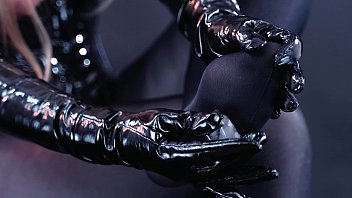 Hot pantyhose feet teasing by Arya Grander