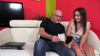 Anina Silk Fucked By An Old Man