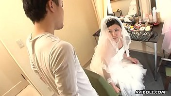 Midget wedding photo - Japanese bride, emi koizumi cheated after the wedding ceremony, uncensored