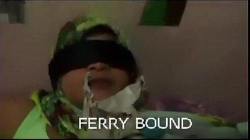 WIndo Bondage gagged DBSM Ferry