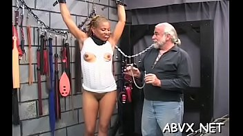 Free xxx amature home videos Taut bawdy cleft extreme bondage in home xxx video