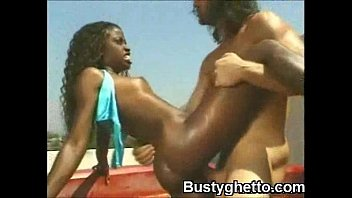 Black fucking hardcore hoe - Wild young afro babe oral and booty pounded outdoor