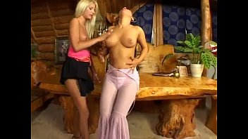 Two horny lesbians having sex in a warm place