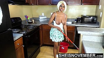 Areolas Are Massive On Sexy Step Daughter With Perky Nipples Saggy Natural Boobs , Skinny Black Babe Msnovember Cleaning Hot Kitchen Before Father Gets Home HD On Sheisnovember صورة