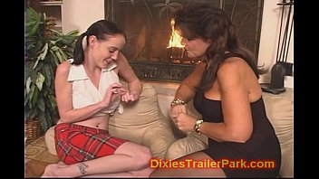Mature mom lesbian daughter - Lesbian mom teaches daughter
