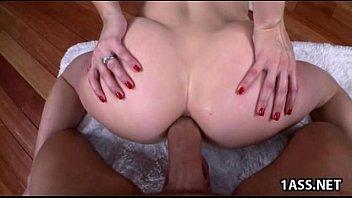 Ashley Fires takes anal fucking