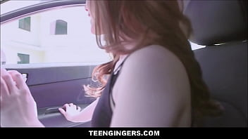 Hot Redhead With A Big Ass Ella Hughes Picked Up By Stranger And Fucked