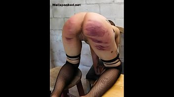 Alasandra's Punishment Room Caning Starring Alasandra thumbnail