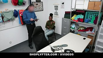 ShopLyfter - Pretty Black Girl Caught Stealing Gets Creampied By Security thumbnail