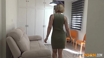 Just us porn She invites us to her place to film her assfuck