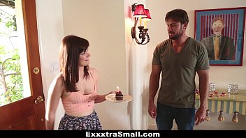 ExxxtraSmall - Petite Teen (Alison Grey) Fucks Her Neighbor